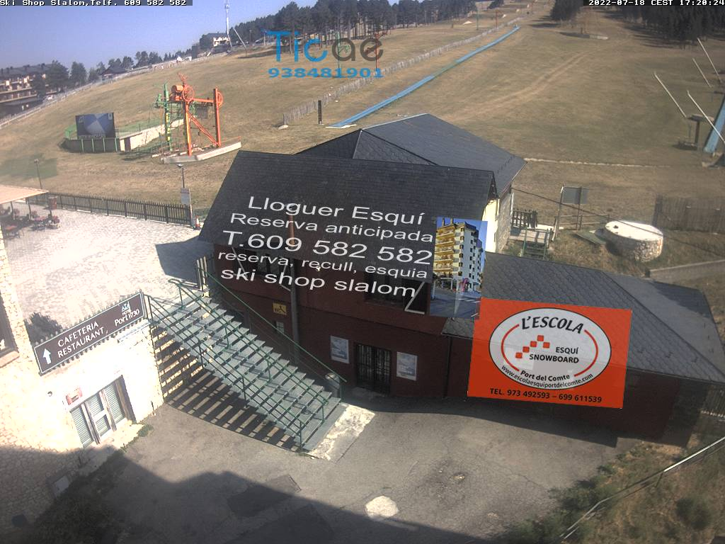 Webcam de Pistas Sector Hostal