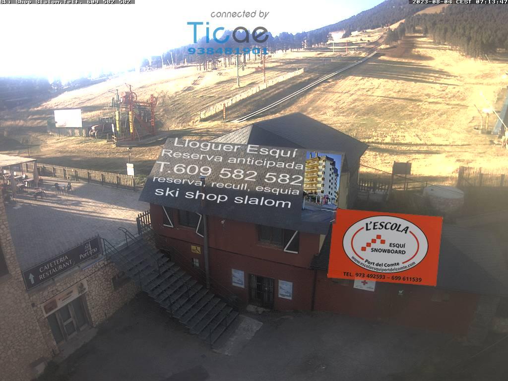 Webcam en Pistas Sector Hostal